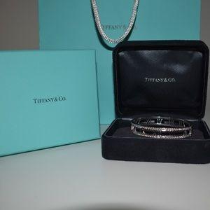 Tiffany & Co Diamond Atlas Bangle